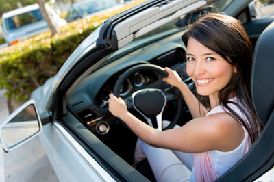 Woman happy because she bought the Best Auto Insurance New Jersey